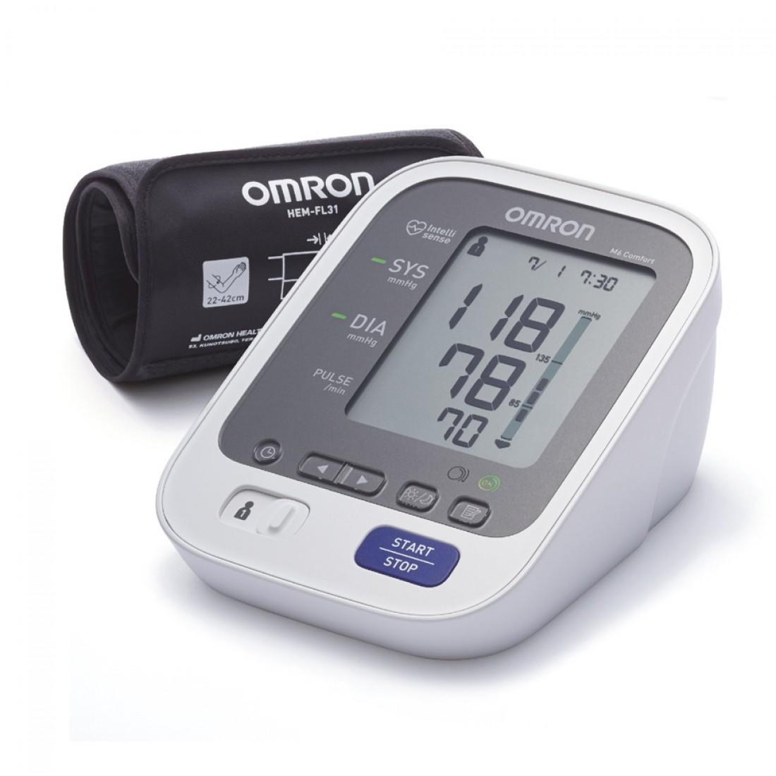 Апарат за кръвно, апарат за лакет, omron, омрон, измерване..