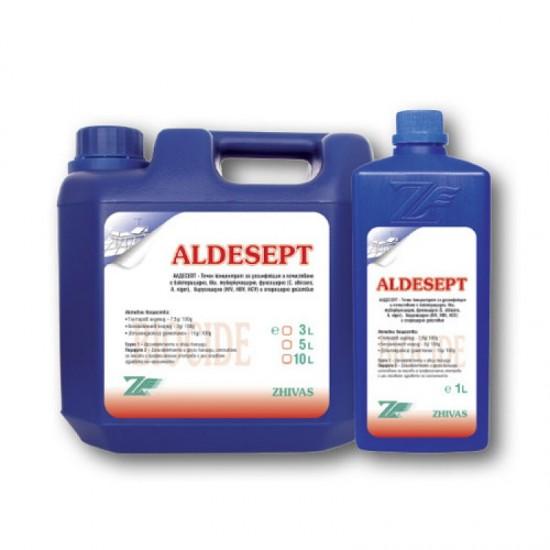 АЛДЕСЕПТ - Дезинфектант за повърхности, концентрат