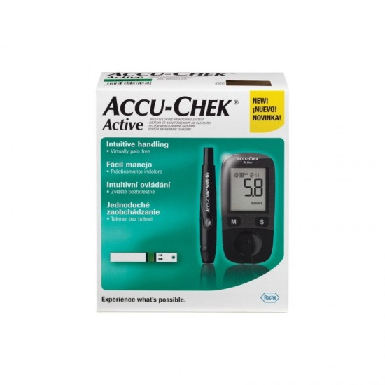Глюкомер ACCU CHECK ACTIVE