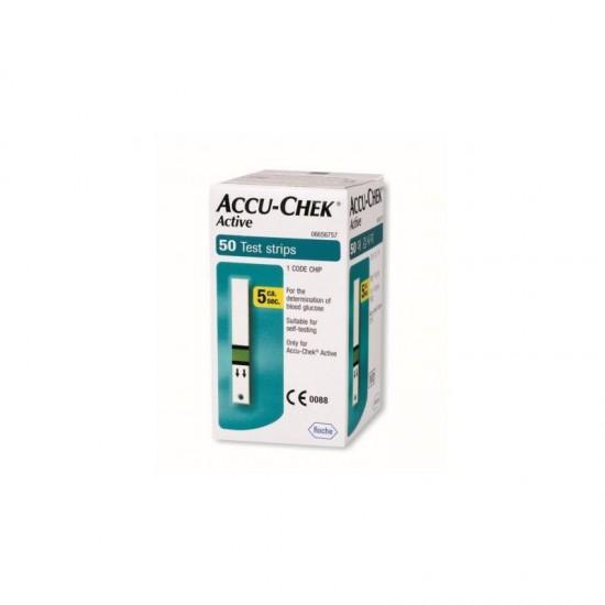 Тест ленти за кръвна захар ACCU CHECK ACTIVE