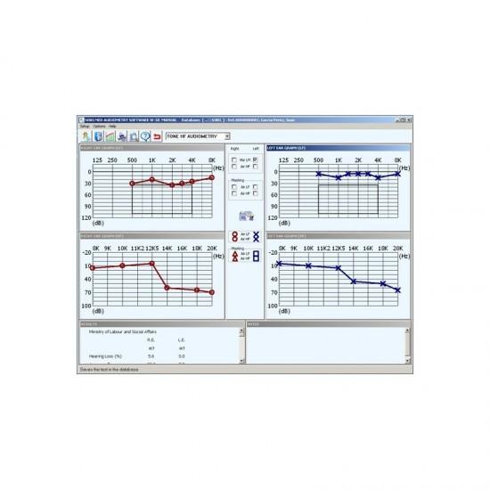 Софтуеър за аудиометър W 50