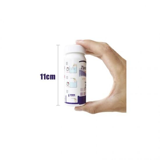 Тест ленти РН и хлор, 2 в 1