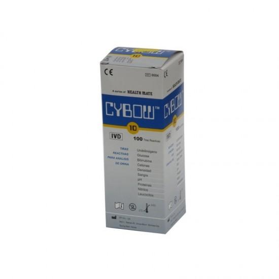 Тест ленти за урина, 10 показателя