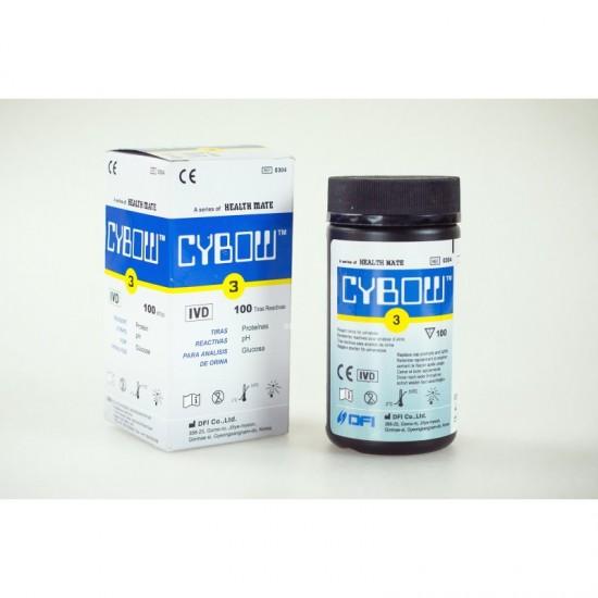 Тест ленти за урина, 3 показателя
