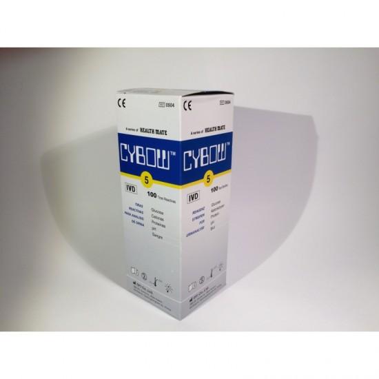 Тест ленти за урина, 5 показателя