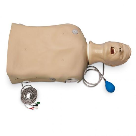 Симулатор за КПР, интубация, вентилация и аспирация