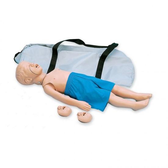 Тренировъчен модел на 3-годишно дете за КПР (първа помощ)