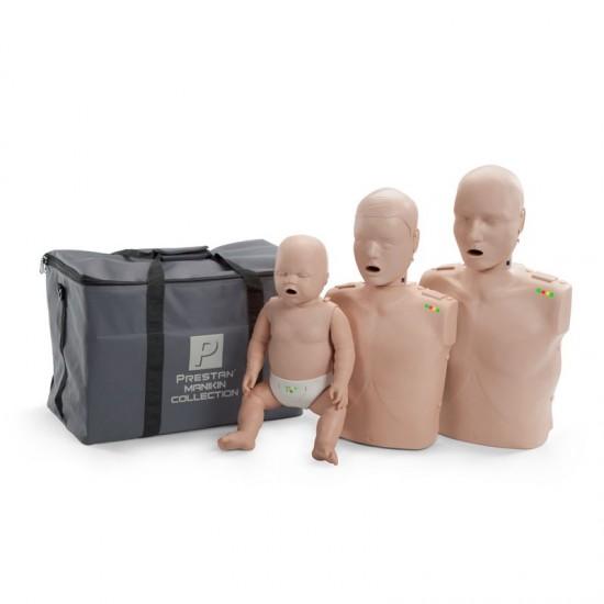 Тренировъчен модел за КПР (първа помощ), комплект