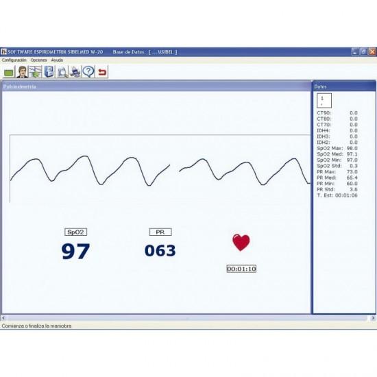 Софтуер за спирометър W20